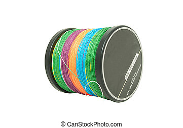 Spool Of Fishing Line - A spool of new Colour wattled cord...