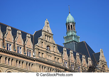 Historic Building in the center of Milwaukee, Wisconsin,...