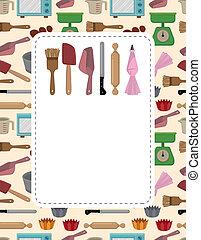 baking card
