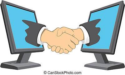 The deal on the internet - Conclusion of a deal between the...