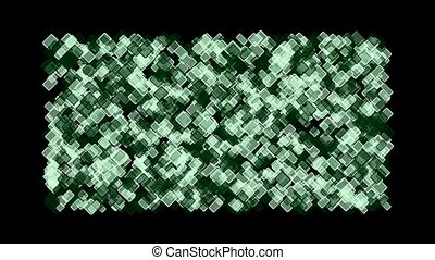 computer chip board,green square block mosaics wall,game...