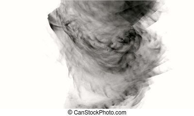 swirl smoke and tornado.
