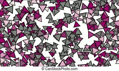 triangles block mosaics wall,game brick background,abstract...