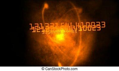 galaxy and nebula explosion