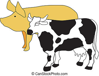 symbol of cattle breeding