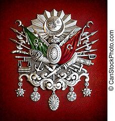 emblema, otomano, império