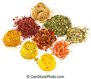 Spice   - Group Spice  on  white background.