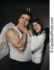 Mr. and Mrs. Angel