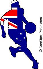 basketball colors of Australia