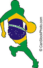 basketball colors of Brazil