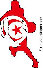 basketball colors of Tunisia