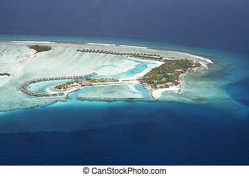 Maldives - Tropical Island paradise - the Maldives, North...
