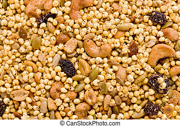 Indian Snack Food - Closeup of indian snack food called...