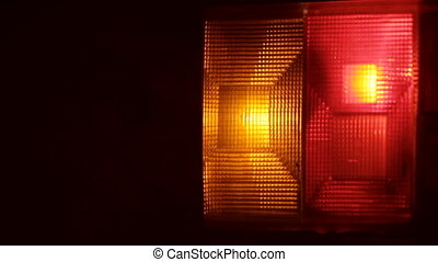 Flashing Hazard Lights On Car