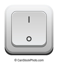 Switch - Illustration of a switch on a white background