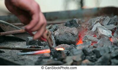 Blacksmith fire - fire of a blacksmith