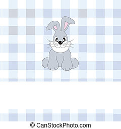 rabbit - Greeting card rabbit