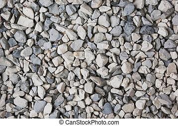 pierre, écrasé