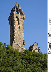 Wallace Monument, Stirling - The Wallace Monument occupies a...