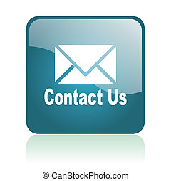 contact us glosssy icon