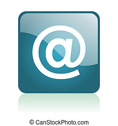 e-mail glosssy icon