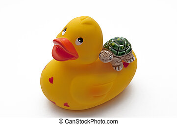 Rubberduck with Turtle