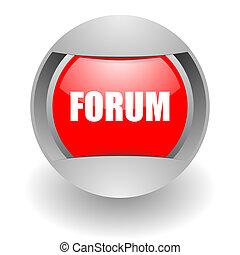 forum steel glosssy icon