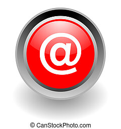 e-mail steel glosssy icon