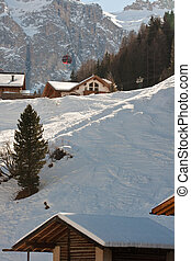 winter holiday in alps
