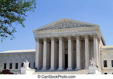 USA Supreme Court Building - USA Supreme Court building in...