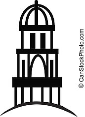 Cupola or Temple - Temple or cupola illustration silhouette...