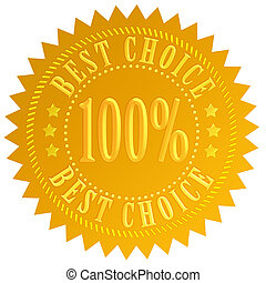 Best choice guarantee seal