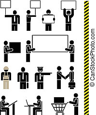 People - vector pictogram