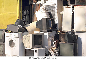 Dump the old broken appliances
