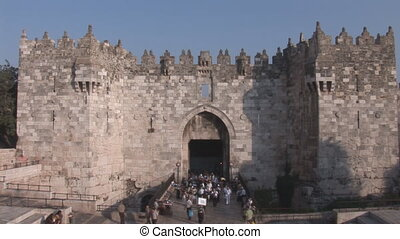 Damascus Gate in Jerusalem
