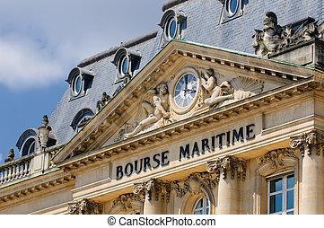 Bourse Maritime building, Bordeaux, France