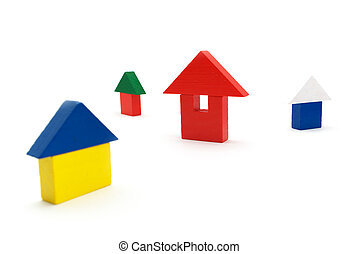 Toy houses Element of design