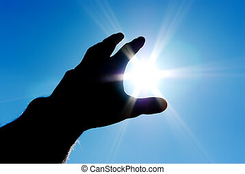 Sun in control - Sun in hand Conceptual design