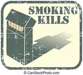 Smoking kills