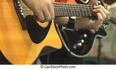 acoustic guitar 5 - playing acoustic guitar