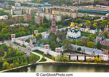 Novodevichiy convent in Moscow, Russia
