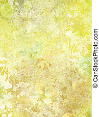 Grunge Floral Abstract - Image of a Grunge Floral Abstract...