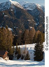 picturesque tirol scenery