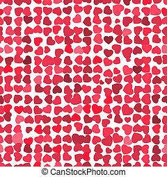 Valentine seamless hearts pattern. EPS 8