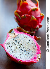 Pitahaya - Fresh, delicious pitahaya, dragon fruit Studio...