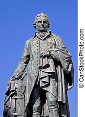 Adam Smith, Royal Mile, Edinburgh - Adam Smith 1723-90...