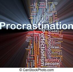 fondo, concetto, wordcloud, illustrazione, temporeggiamento,...