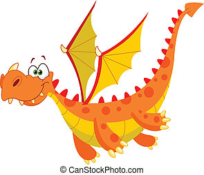 voando, dragão