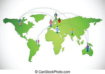 Worldwide Human Networking