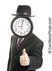 Anonymous Businessman Thumbsup